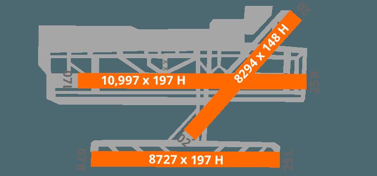 Barcelona Airport Diagram Runway
