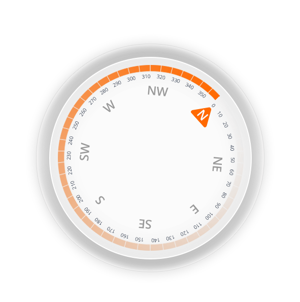 Digital Compass base