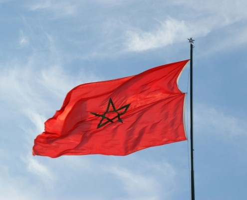 Photo of Moroccan flag